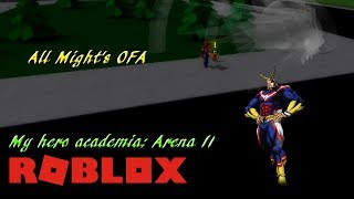 Roblox Blox No Hero academia | One For All Moves - Most Popular Videos