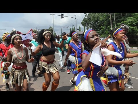 THE ROAD SHOW THAT SHOOK ENUGWU........OJA CULTURAL FESTIVAL {ROAD SHOW}