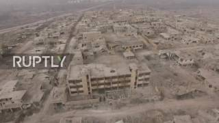 Syria: Drone captures Sheikh Saeed in Aleppo taken by SAA