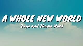 "Zayn And Zhavia Ward   A Whole New World (End Title) (Lyrics) [from ""Aladdin"" Soundtrack]"
