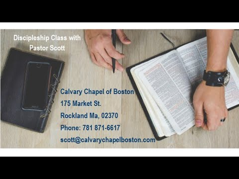 Discipleship Class 15 Essentials pt2