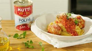 Przepis na klopsiki w sosie pomidorowym - Mutti