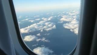 デルタ航空機内