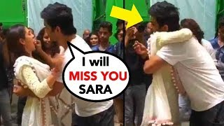 "Sara Ali Khan got EMOTIONAL with Sushant Singh Rajput on his last day of shoot of ""Kedarnath""- Video"