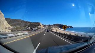 preview picture of video 'Crystal Cove Laguna Beach drive through -  - travel timelapse - FULL HD -  SJ1000 HD 1080P'