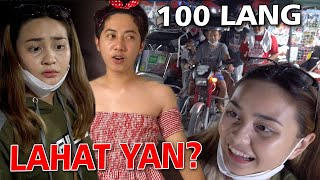 100 PESOS BUDGET CHALLENGE - Kasalan Mo Matmat | SY Talent Entertainment
