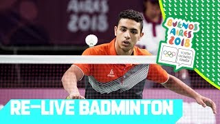 RE-LIVE| Day 06: Badminton | Youth Olympic Games 2018 |Buenos Aires