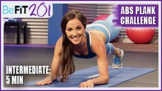 BeFiT 201: 5 min Abs Plank Challenge | Intermediate- Courtney Prather by BeFiT
