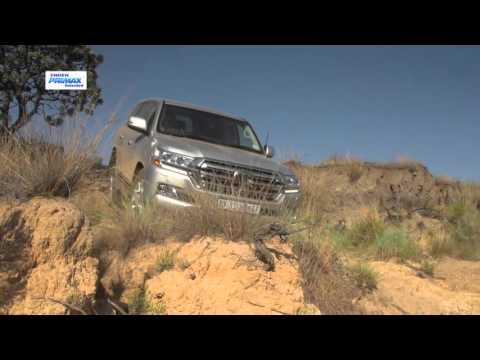 2015 Toyota LandCruiser Sahara diesel V8 0-100km/h & engine sound