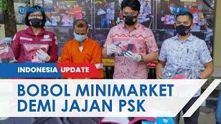 Demi 'Jajan' PSK, Pengamen di Malang Curi Uang Minimarket Rp34 Juta, Aksinya Terekam CCTV