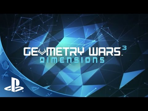 Geometry Wars 3: Dimensions - Launch Trailer | PS4, PS3 thumbnail