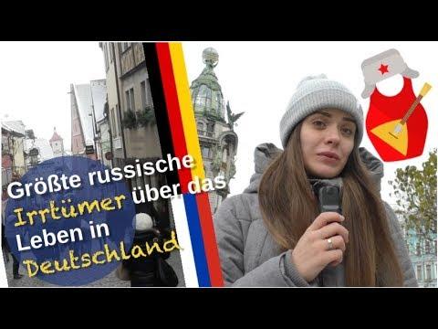 Russische Irrtümer über Leben in Deutschland [Video]