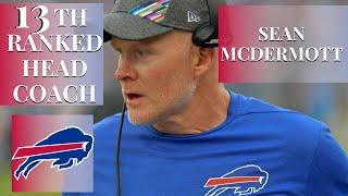 Buffalo Bills Head Coach Sean McDermott 🏈🏈🏈🏈