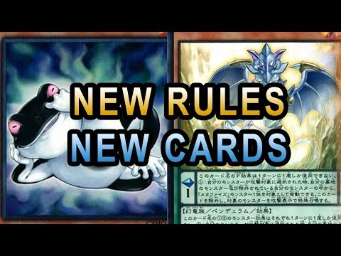 NEW RULINGS FOR NEW YUGIOH CARDS! (Cybernetic Horizon, FROG, DEVI RITUAL, GOUKI, DRAW POWER)