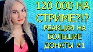 120 К НА СТРИМЕ! РЕАКЦИЯ НА БОЛЬШИЕ ДОНАТЫ #1 LUDOJOP