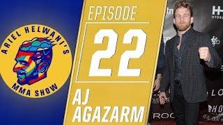 Brazilian jiu-jitsu star AJ Agazarm announces his deal with Bellator   Ariel Helwani's MMA Show