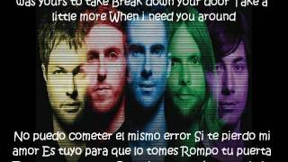 Maroon 5-The Way I Was SUBTITULADA Español-English Lyrics