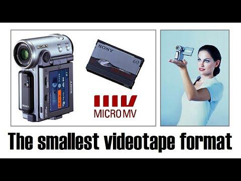 MicroMV: The world's smallest videotape format
