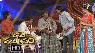 Sudigaali Sudheer Performance | Dasara Mahotsavam  | 11th October 2016 | ETV  Telugu