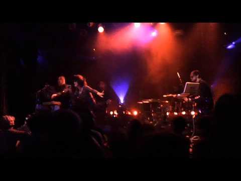 ninja funk orchestra at mod club with chloe charles