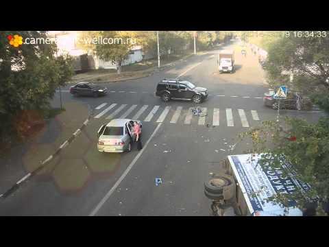 VIDEO Ovo se zove sreća u nesreći: Zvuči nemoguće, ali niko nije teže povrijeđen