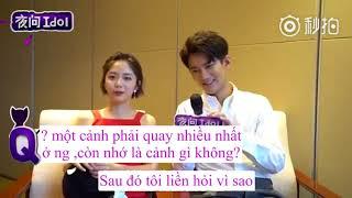[Vietsub ] Phỏng Vấn Yewen Idol -hỏi Nhanh đáp Nhanh [Hùng Tử Kỳ, Đàm Tùng Vận]