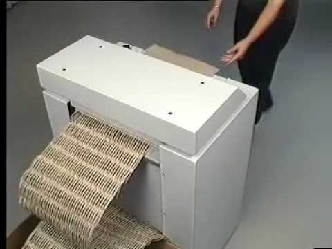 Video of the HSM ProfiPack 425 Shredder