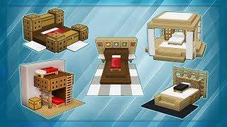 20 Minecraft Bed Designs!