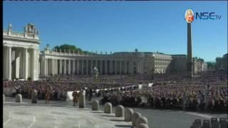 Audiencia General - La catequesis del Santo Padre 12-10-2016