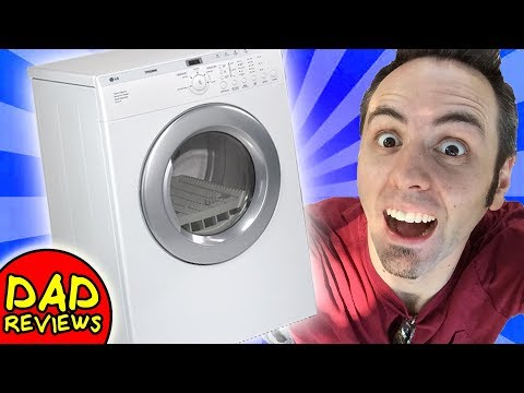 BEST ELECTRIC CLOTHES DRYER | LG Tromm Dryer (DLE2512W) Reviews