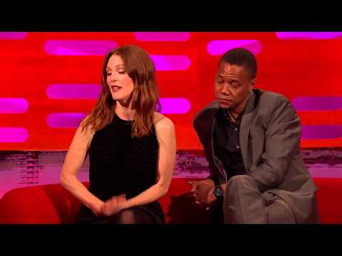 Julianne Moore a Cuba Gooding Jr. u Grahama Nortona