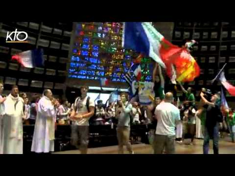 Les Français des JMJ réunis à la cathédrale de Rio