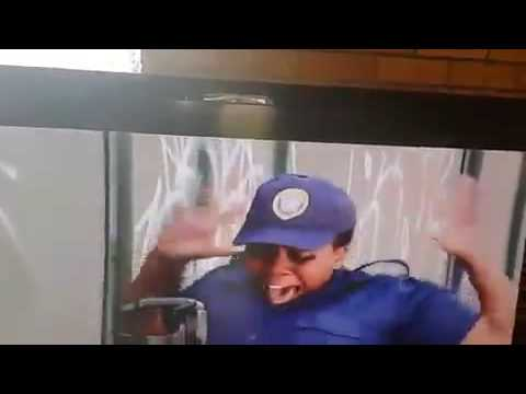 Traffic Cop Snake Scare