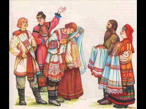 """русская народная песня """"вьюн над водой"""""""