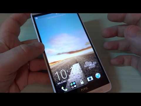 HTC One Max, focus lettore impronte digitali