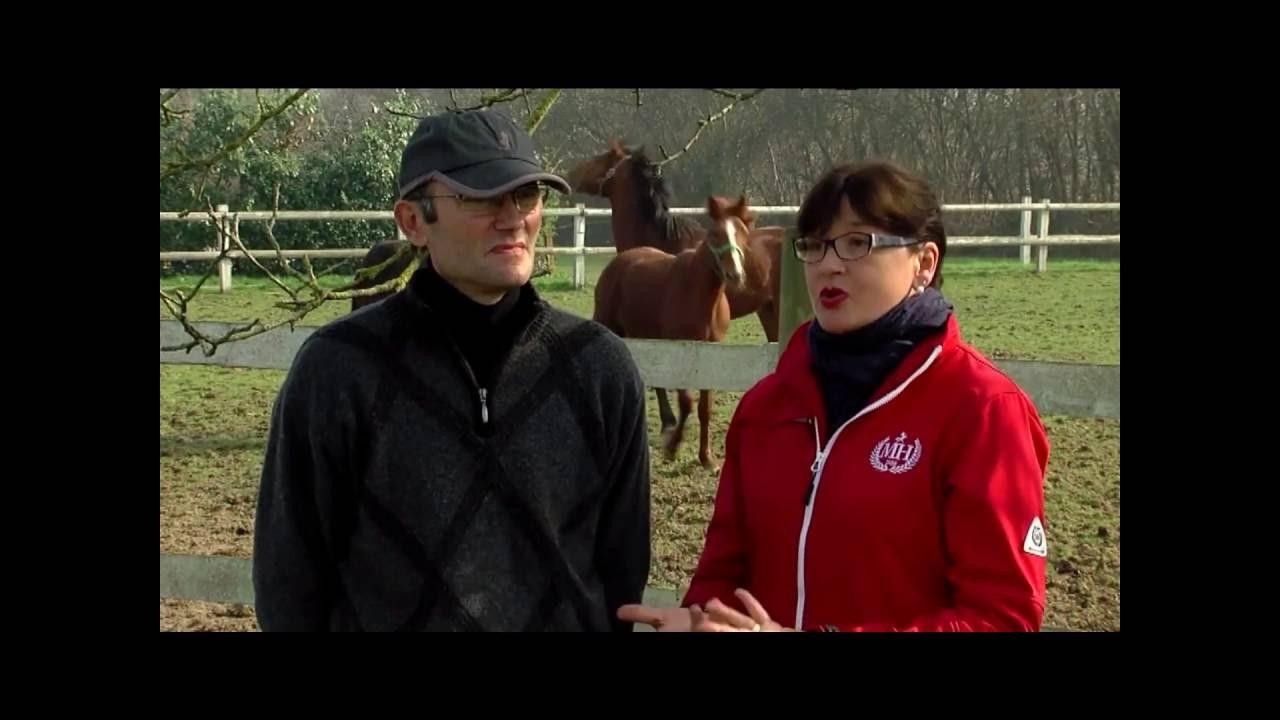 Interview de <strong>Gérard et Anne Raulline</strong>, éleveurs de trotteurs.
