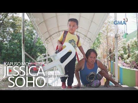 Kapuso Mo, Jessica Soho: Ina, araw-araw na kinakarga ang anak papasok ng eskuwela