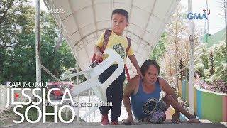 Kapuso Mo, Jessica Soho: Nanay na hirap maglakad, hinahatid ang anak sa eskuwelahan