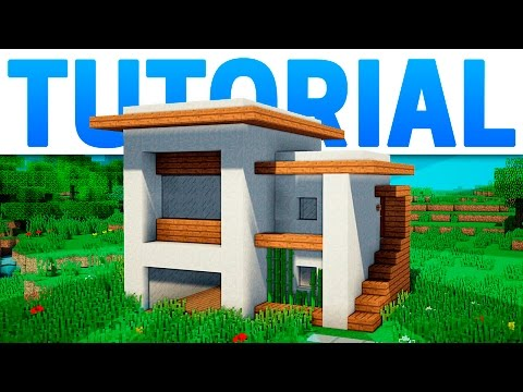 Search result youtube video casa minecraft for Mirote y blancana casa moderna