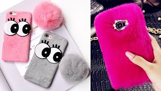 LOVELY DIY PHONE CASE IDEAS/10  Phone DIY Projects & Popsocket Crafts!