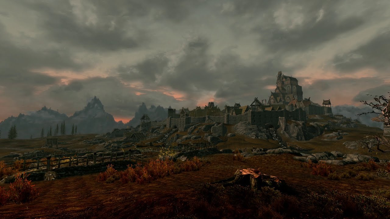 This Is The World You'll Be Fighting To Save In Skyrim