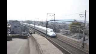 新幹線が間近で見える穴場スポット!in京都