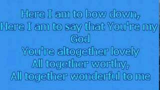 Jeremy Camp - Here I Am To Worship (Minus One)