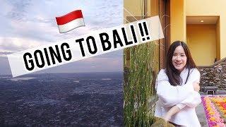 FLYING TO BALI, INDONESIA!