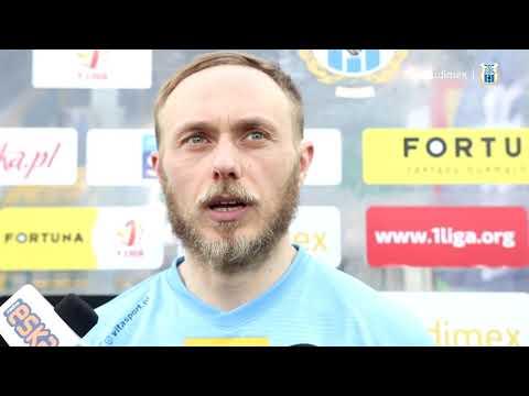 Wypowiedź Grzegorza Lecha po meczu Stomil - Raków