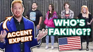 Dialect Coach Guesses Who Is Faking An American Accent