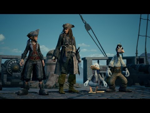 KINGDOM HEARTS III – E3 2018 Pirates of the Caribbean Trailer thumbnail
