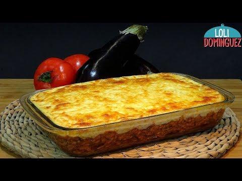 Musaka o Moussaka fácil, (Riquísima receta Griega) - Recetas paso a paso, tutorial. Loli Domínguez