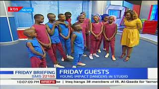 Young Impact dance group showcase their talents on the Friday Briefing floor pt2