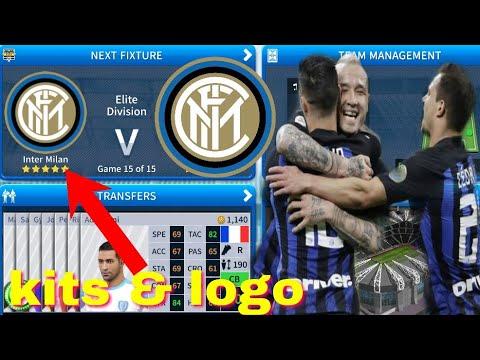 Dream League Soccer 2019 How To Make Inter Milan Kits & Logo 2019/2020 -  WOWPT Gaming